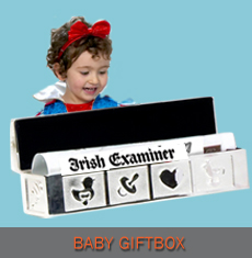 Newspaper Gifts - Baby Giftbox