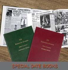 Newspaper Gifts - Special Date Books